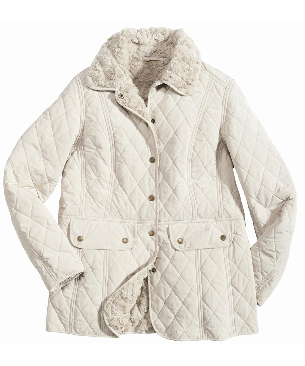 Barbour Berkeley Quilt Jacket Stone Sale
