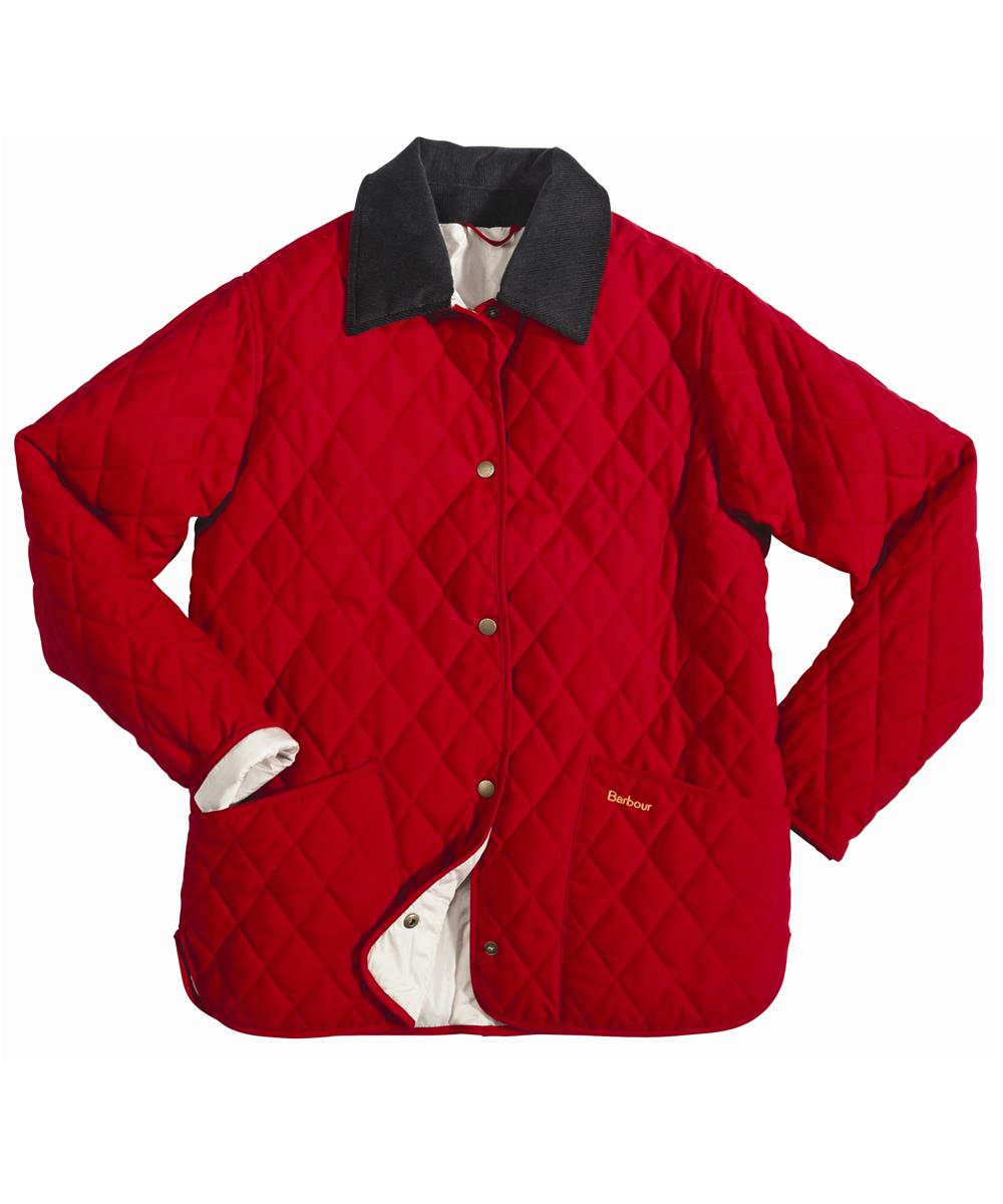 Barbour Eskdale Quilted Jacket Red | Pearl Sale