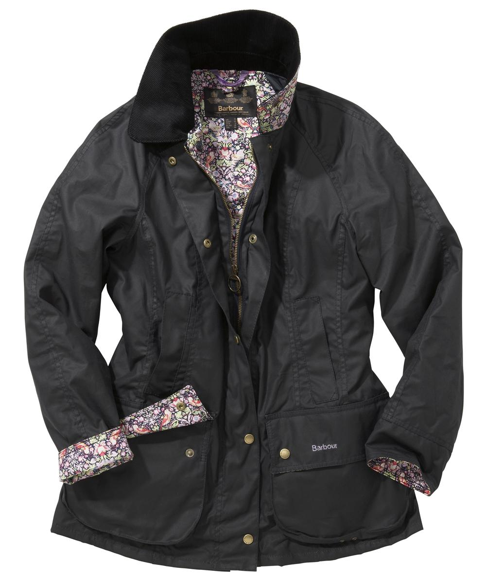 Womens Barbour Liberty Beadnell Waxed Jacket Navy | Blue Morris Sale