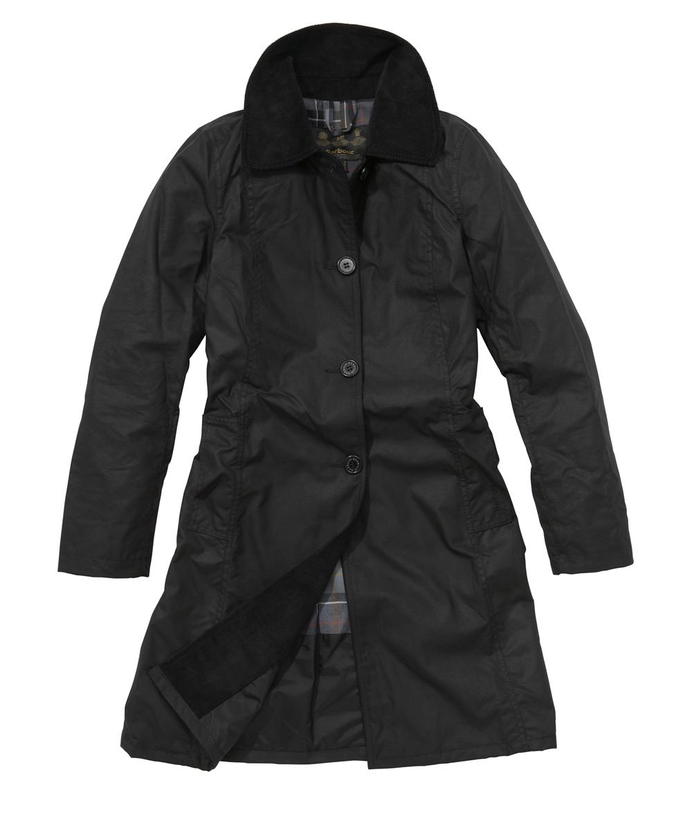 Barbour Georgina Jacket Black | Modern Tartan Sale