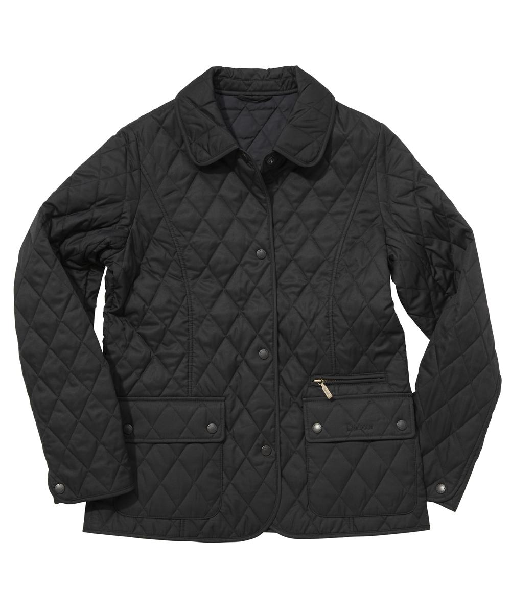 Barbour Ladies Daphne Quilted Jacket Black Sale