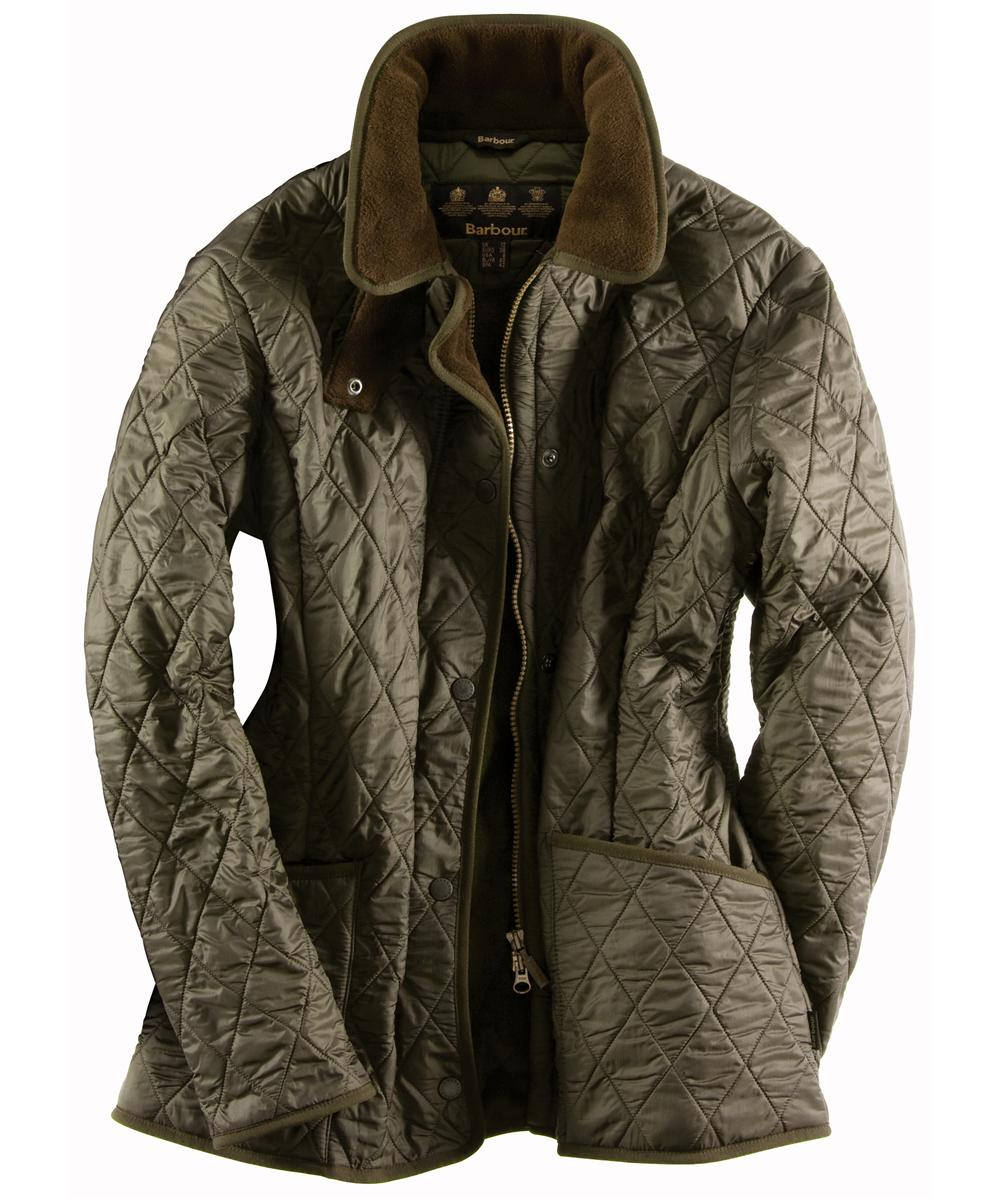 Barbour New Polarquilt Jacket Olive Sale