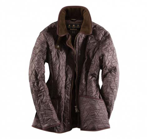 Barbour New Polarquilt Jacket Brown Sale