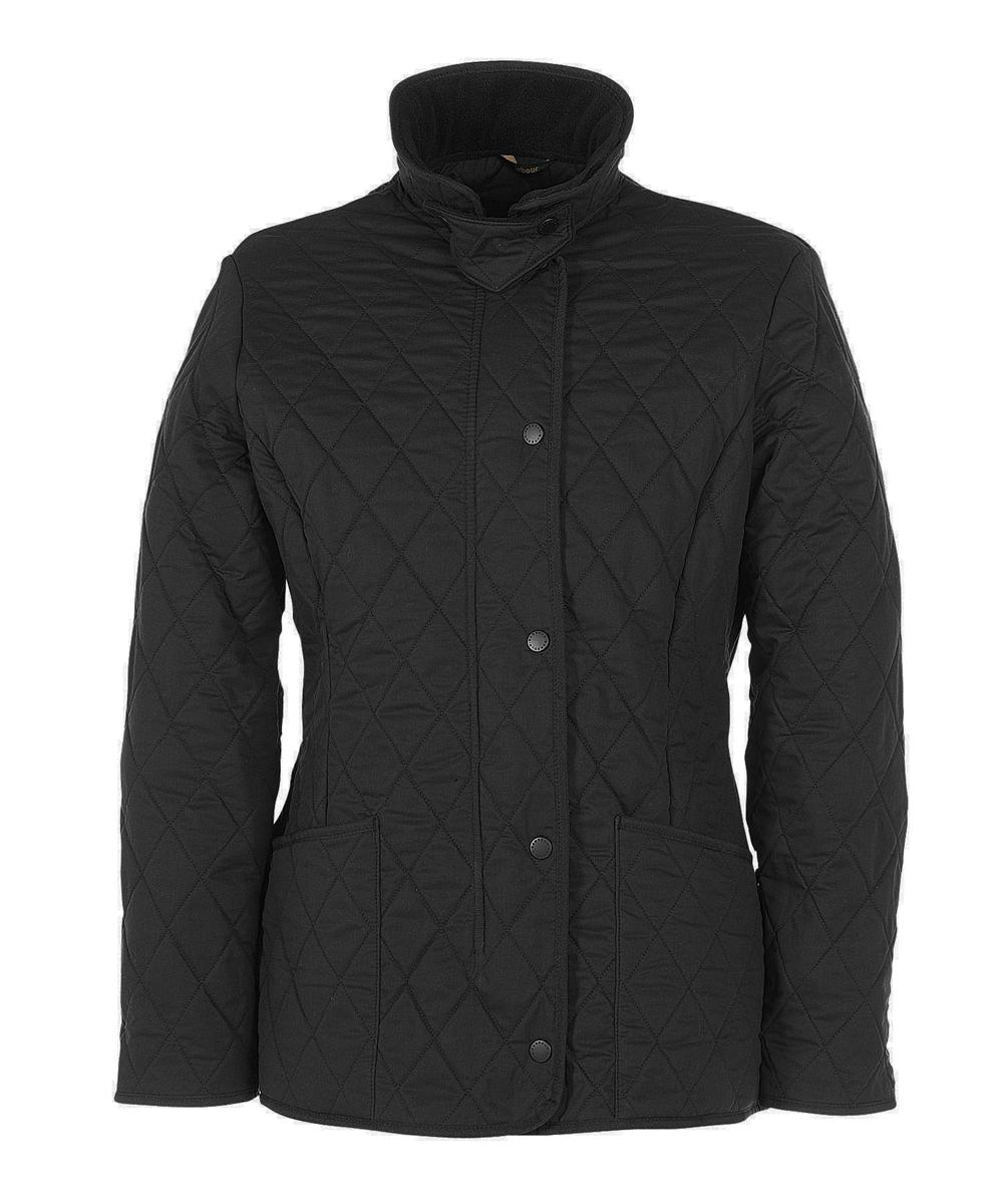 Barbour Ladies Soft Duracotton Polarquilt Black Sale