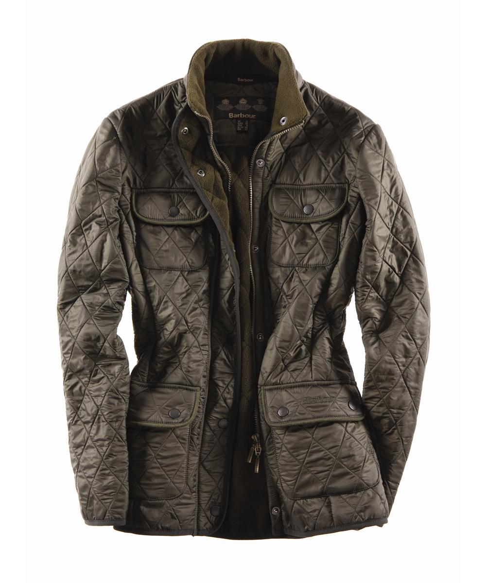 Barbour Ladies Utility Polarquilt Olive Sale