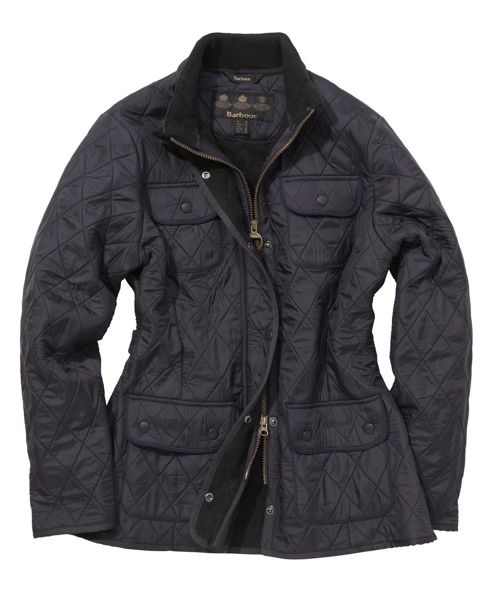 Barbour Ladies Utility Polarquilt Purple Sale