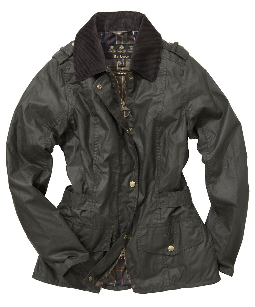 Barbour Tennant Waxed Jacket - Olive Sale