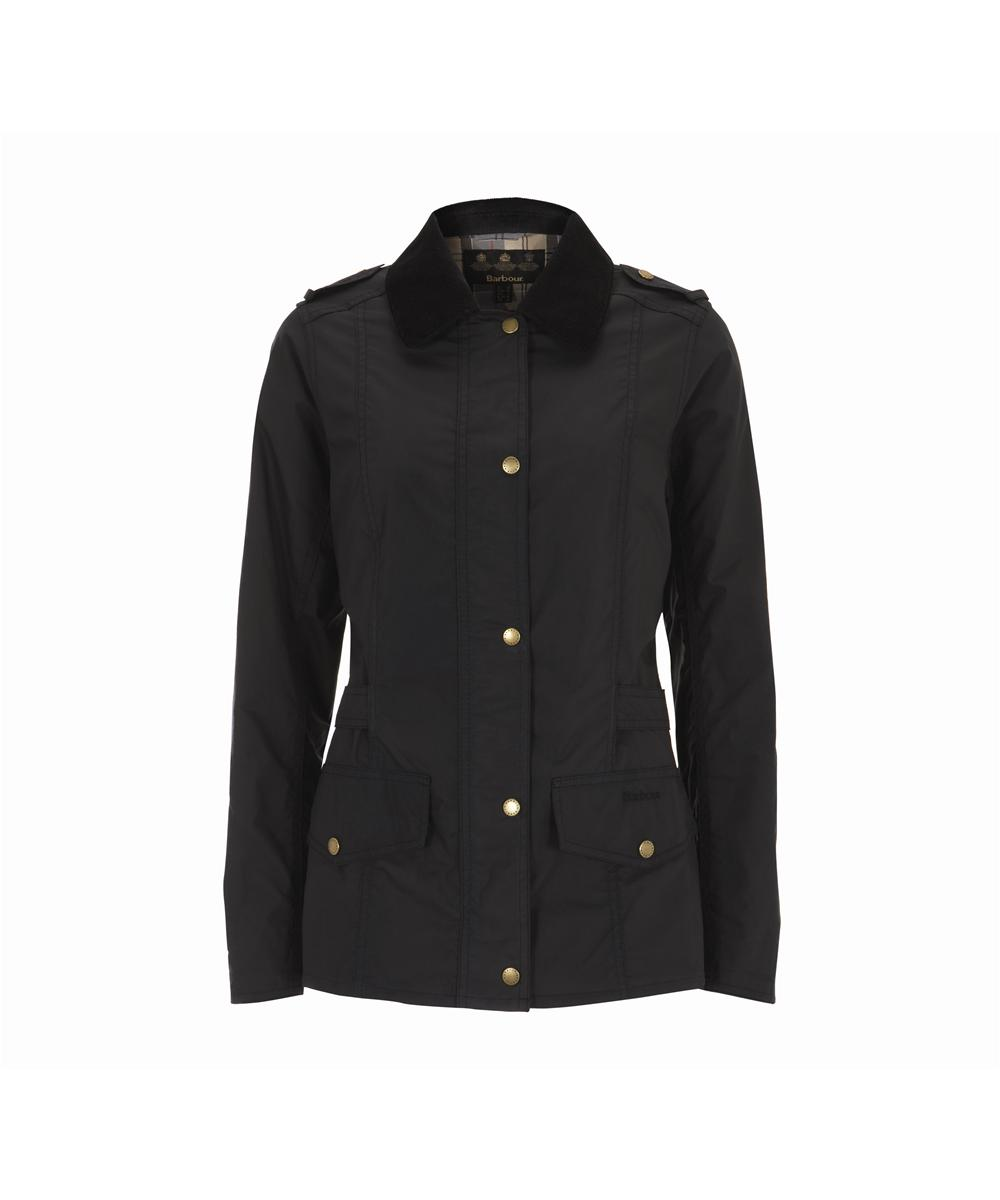 Barbour Tennant Waxed Jacket - Navy Sale