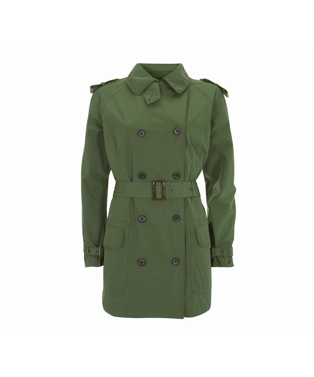 Barbour Valerie Cotton Touch Trench Coat - Turf Sale