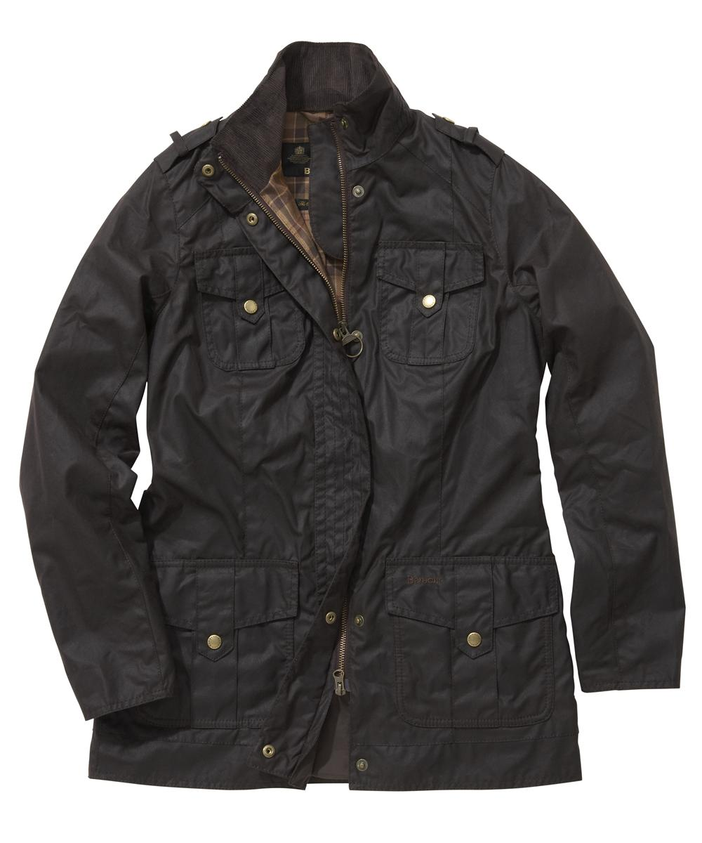 Barbour Ladies Defence Jacket Rustic | Muted Tartan Sale