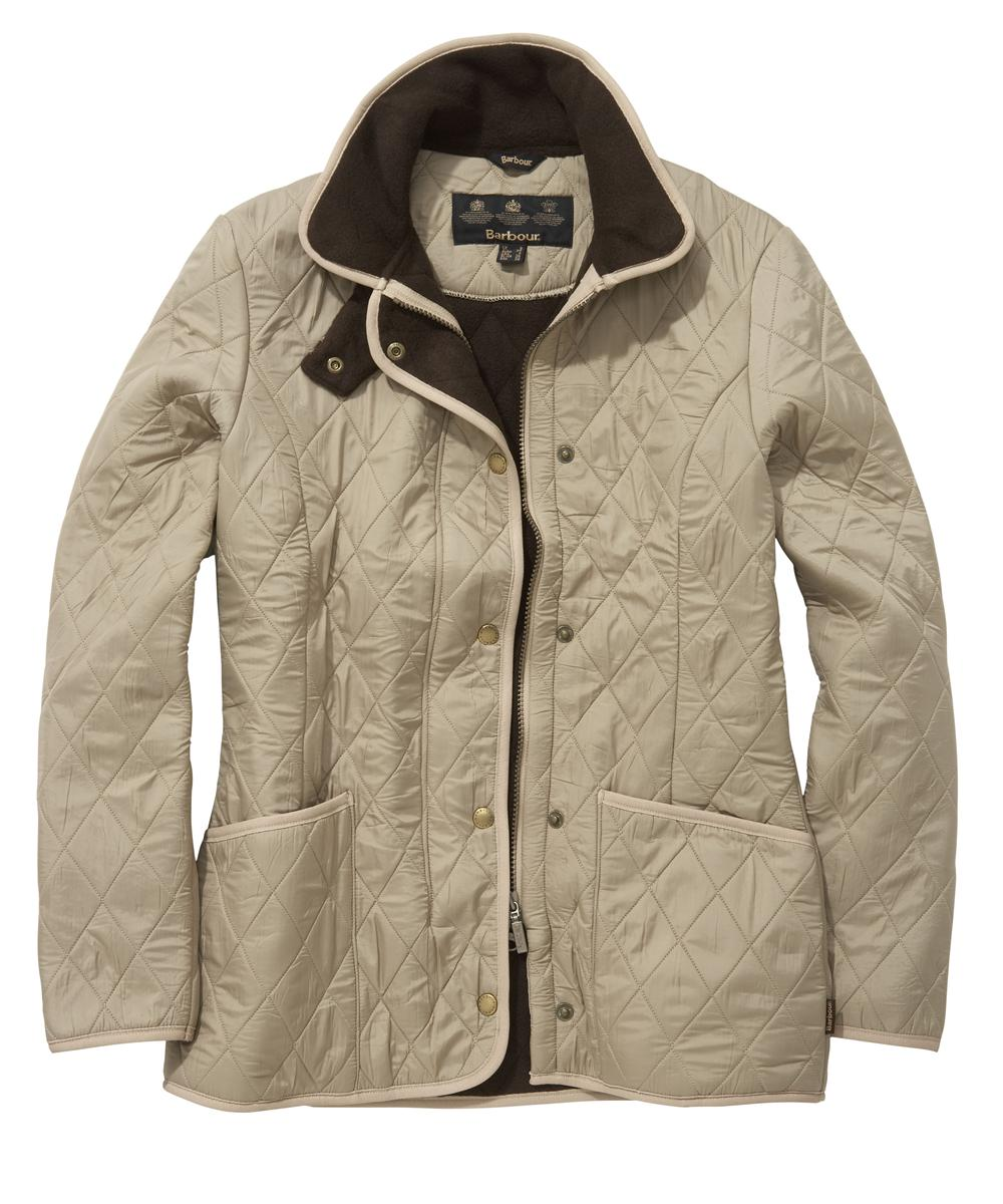 Barbour New Polarquilt Jacket Dark Stone Sale