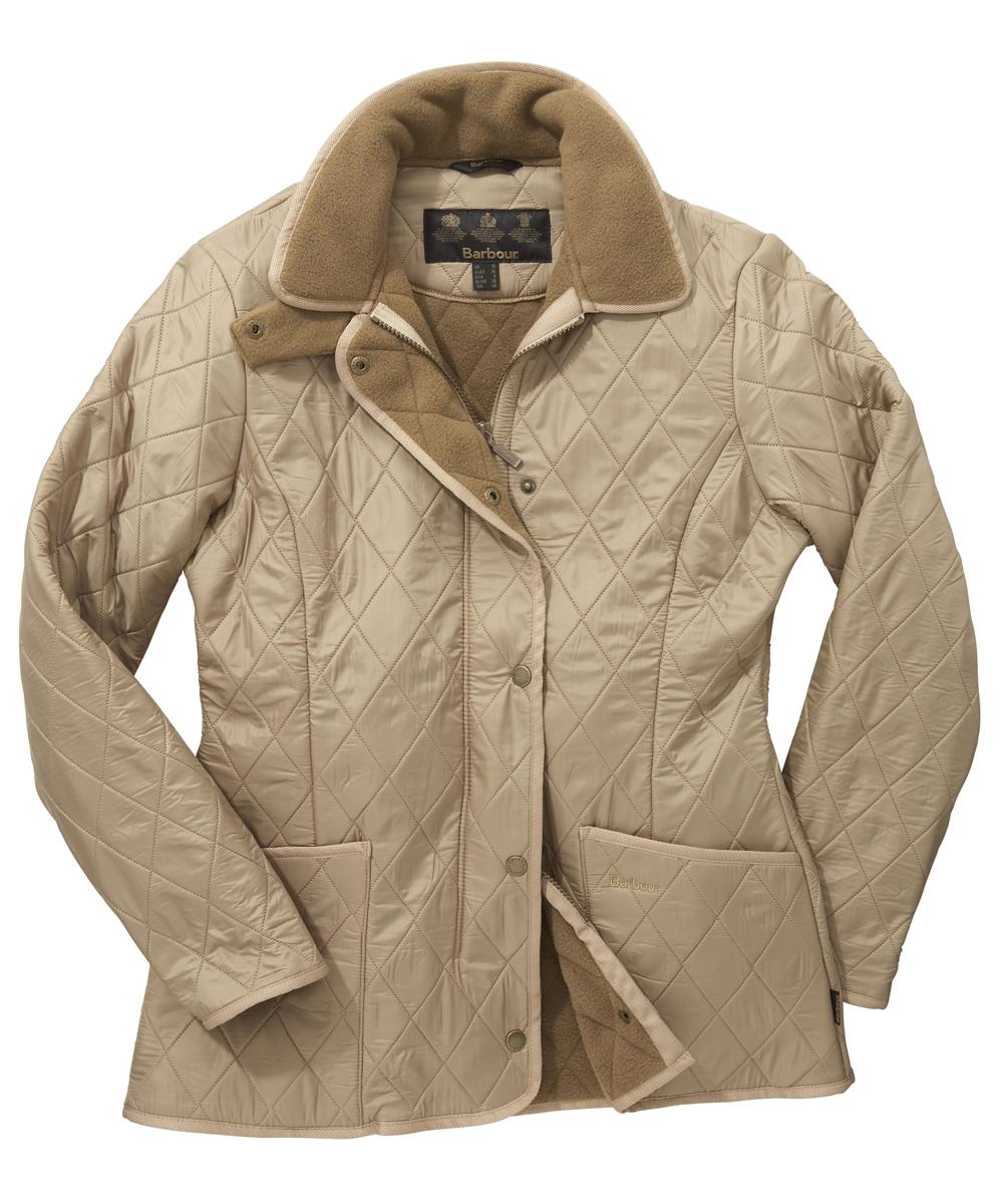 Barbour New Polarquilt Jacket Sandstone Sale