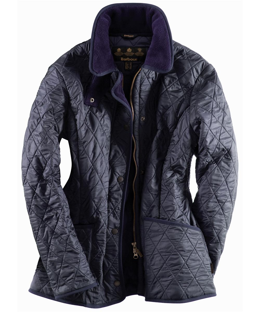 Barbour New polarquilt Jacket Navy Sale