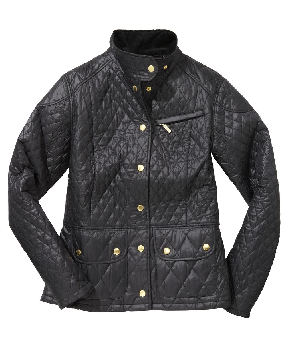 Womens Barbour Cruise Quilted Jacket - Black Sale