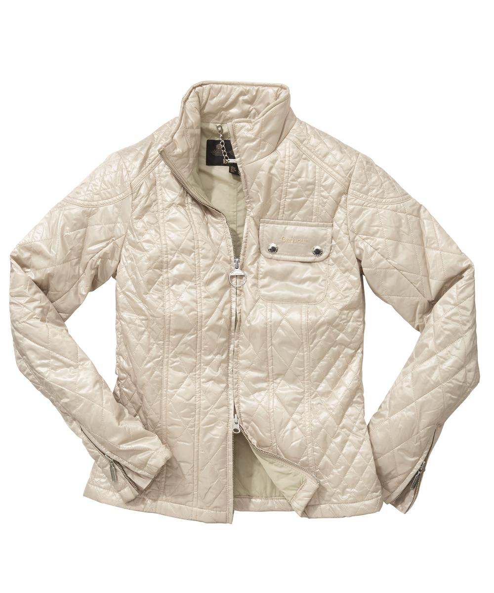 Barbour Mercury Freerider Quilted Jacket - Dark Pearl Sale