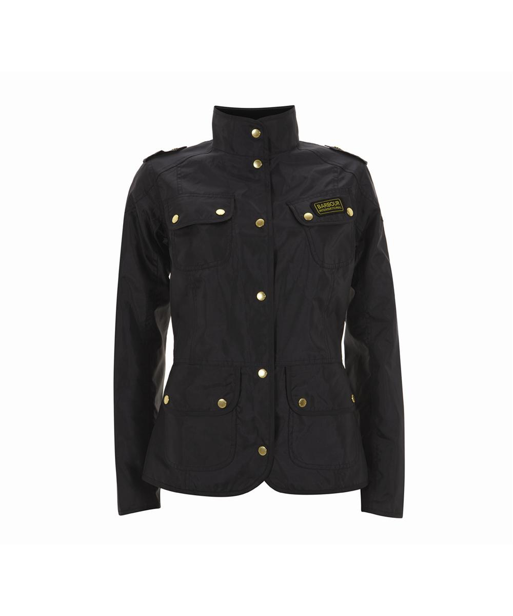 Womens Barbour Vintage International Jacket Navy Sale